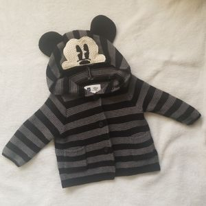 Baby Gap Mickey Mouse Hoodie Sweater